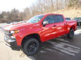 2019 Red Hot Chevrolet Silverado 1500 Custom Z71 Trail Boss Double Cab 4WD #132012519