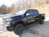 2019 Black Chevrolet Silverado 1500 Custom Z71 Trail Boss Crew Cab 4WD #132012518