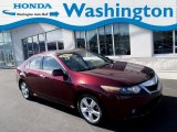 2010 Basque Red Pearl Acura TSX Sedan #132012479