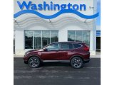 2019 Basque Red Pearl II Honda CR-V Touring #132012476