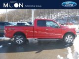 2019 Race Red Ford F150 XLT SuperCab 4x4 #132012581