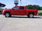 2009 Victory Red Chevrolet Silverado 1500 LT Crew Cab #13176217