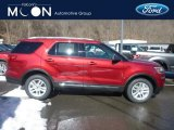 2019 Ruby Red Ford Explorer XLT 4WD #132012575
