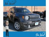 2019 Granite Crystal Metallic Jeep Renegade Latitude 4x4 #132012352
