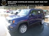 2019 Jetset Blue Jeep Renegade Latitude 4x4 #132012458