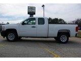 2009 Summit White Chevrolet Silverado 1500 Extended Cab #13176133