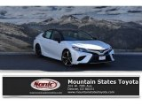 2019 Wind Chill Pearl Toyota Camry XSE #132038460