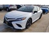 2019 Midnight Black Metallic Toyota Camry XSE #132038807