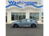 2019 Sonic Gray Pearl Honda Civic EX Hatchback #132038577