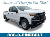 2019 Summit White Chevrolet Silverado 1500 WT Double Cab 4WD #132038483