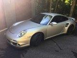 2007 Arctic Silver Metallic Porsche 911 Turbo Coupe #132038424