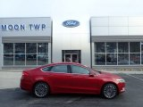 2017 Ruby Red Ford Fusion SE AWD #132038712