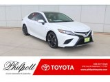 2019 Wind Chill Pearl Toyota Camry XSE #132073235