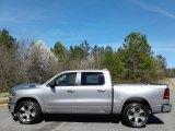2019 Billett Silver Metallic Ram 1500 Laramie Crew Cab 4x4 #132073126
