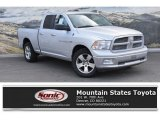 2012 Bright Silver Metallic Dodge Ram 1500 Big Horn Quad Cab 4x4 #132089599