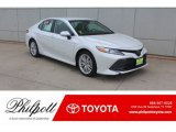 Wind Chill Pearl Toyota Camry in 2019