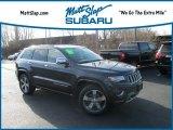 2014 Maximum Steel Metallic Jeep Grand Cherokee Overland 4x4 #132089752