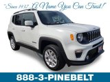 2019 Alpine White Jeep Renegade Latitude 4x4 #132109489
