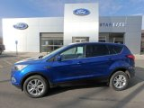 2019 Lightning Blue Ford Escape SE 4WD #132109713