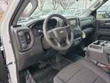 2019 Chevrolet Silverado 1500 WT Crew Cab 4WD Jet Black Interior