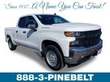2019 Summit White Chevrolet Silverado 1500 WT Double Cab #132128819