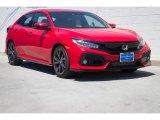 2019 Rallye Red Honda Civic Sport Touring Hatchback #132128940