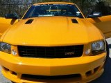 2007 Grabber Orange Ford Mustang Saleen S281 Supercharged Coupe #13163782