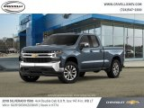 2019 Shadow Gray Metallic Chevrolet Silverado 1500 LT Double Cab 4WD #132156056