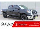 2019 Midnight Black Metallic Toyota Tundra SR5 CrewMax 4x4 #132156036