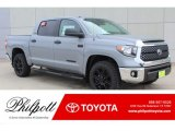 2019 Cement Toyota Tundra TSS Off Road CrewMax #132156034