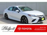 2019 Wind Chill Pearl Toyota Camry XSE #132156032