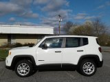 2019 Alpine White Jeep Renegade Sport 4x4 #132188369