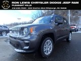 2019 Granite Crystal Metallic Jeep Renegade Sport 4x4 #132188502