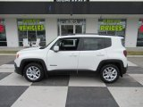 2018 Alpine White Jeep Renegade Latitude #132188495