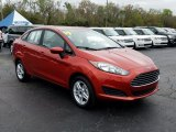 2019 Ford Fiesta Hot Pepper Red