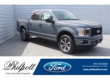 2019 Abyss Gray Ford F150 STX SuperCrew 4x4 #132202799