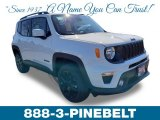2019 Alpine White Jeep Renegade Altitude 4x4 #132202684
