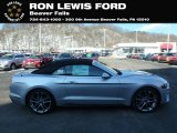 2019 Ingot Silver Ford Mustang GT Premium Convertible #132202724