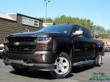2016 Tungsten Metallic Chevrolet Silverado 1500 LT Crew Cab 4x4 #132202629