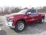 2019 Cajun Red Tintcoat Chevrolet Silverado 1500 LTZ Double Cab 4WD #132222348