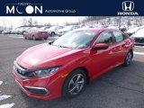 2019 Rallye Red Honda Civic LX Sedan #132222383