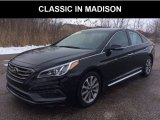 2017 Phantom Black Hyundai Sonata Limited #132222477