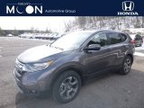 2019 Modern Steel Metallic Honda CR-V EX AWD #132222373