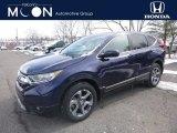 2019 Obsidian Blue Pearl Honda CR-V EX AWD #132222372