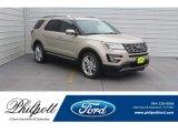 2017 White Gold Ford Explorer Limited #132222402