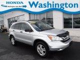 2011 Alabaster Silver Metallic Honda CR-V EX 4WD #132222269