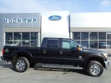 2015 Tuxedo Black Ford F250 Super Duty XLT Crew Cab 4x4 #132245647