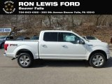 2019 White Platinum Ford F150 Platinum SuperCrew 4x4 #132267358