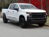 2019 Summit White Chevrolet Silverado 1500 Custom Z71 Trail Boss Crew Cab 4WD #132283944