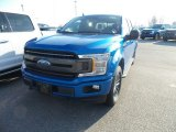 2019 Velocity Blue Ford F150 XLT SuperCrew 4x4 #132294113